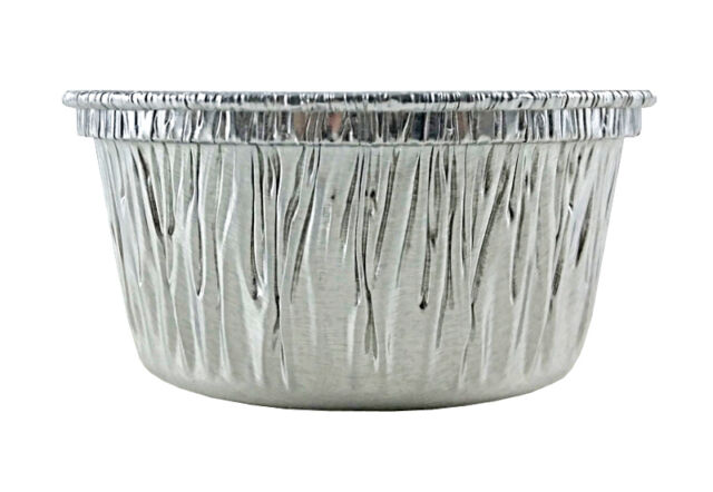 4 oz. Disposable Aluminum Foil Cupcake/Muffin/Ramekin Utility Cup 250 Pack