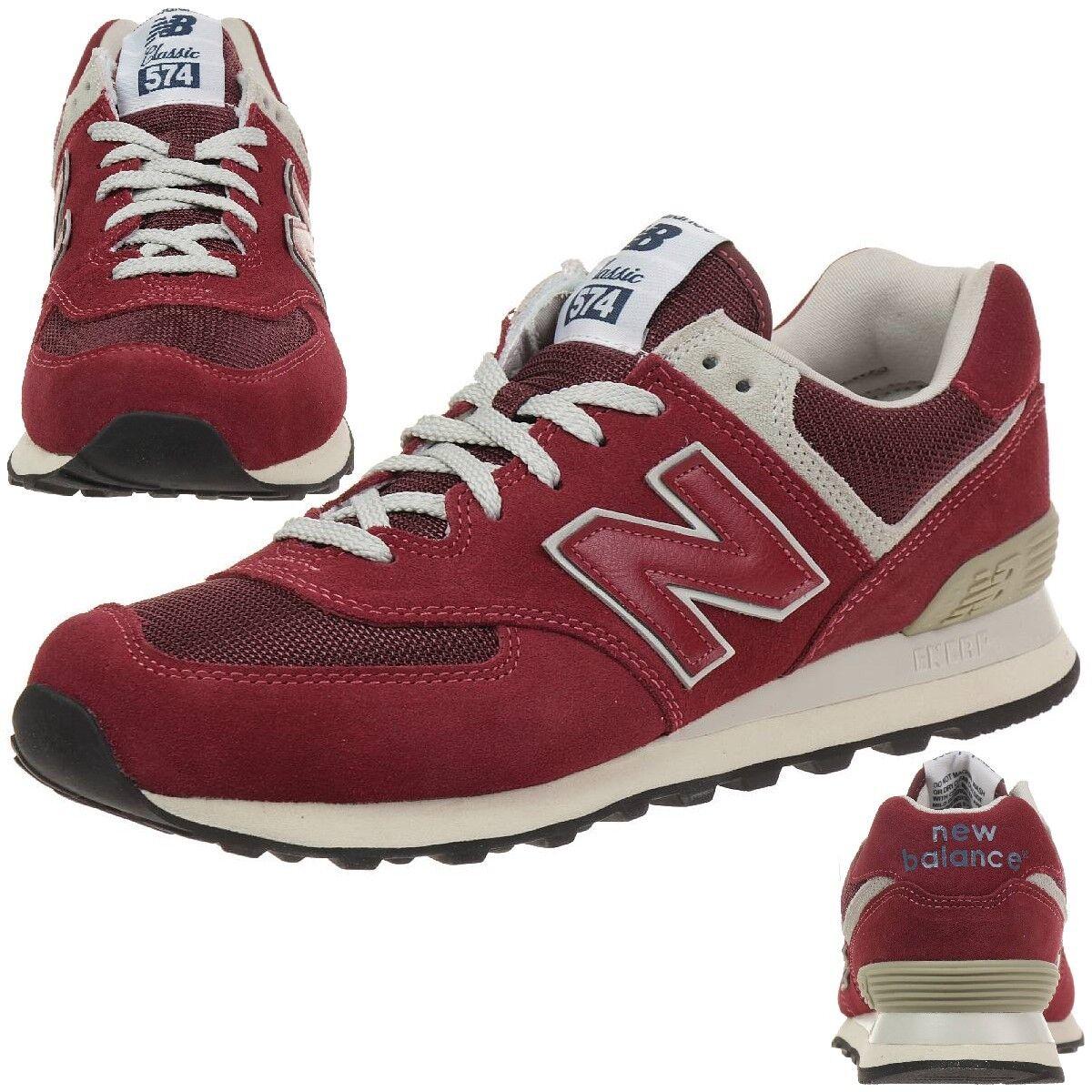 New Balance ML574 FBR Classic Sneaker Unisex Schuhe rot ML574FBR
