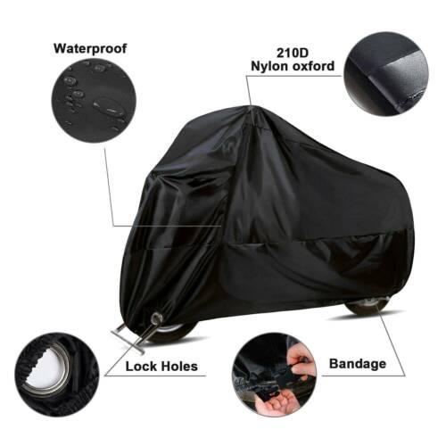 XL Black Motorcycle Cover Bike Waterproof Outdoor Rain Dust For KTM Duke 390 HG