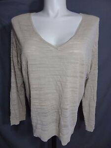 Lane-Bryant-casual-v-neck-long-sleeve-knit-sweater-plus-size-18-20
