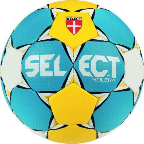 Select Solera Handball Blue Yellow White Training Ball Men/'s Women/'s New
