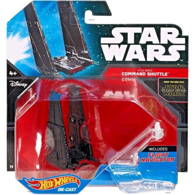 Hot Wheels - Star Wars: The Force Awakens - Kylo Ren's Command Shuttle  Unopened