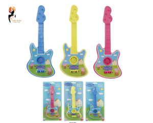 PEPPA PIG GUITAR MUSIC TOY CHILDREN KIDS MUSICAL INSTRUMENT TOYS NEW
