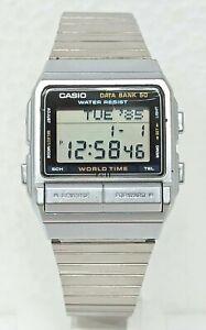 Orologio Casio DB-520 data bank anni 80 vintage watch digital casio clock rare