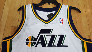 brand new 2be5e 2feaf Details about NEW ADIDAS UTAH JAZZ PRO CUT NBA JERSEY BLANK WHITE AUTHENTIC  SIZE 4XL +4 4X NWT