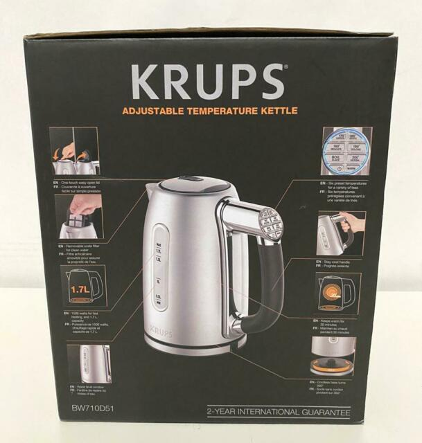 KRUPS Stainless Steel Programmable Kettle