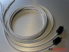 Speaker Cables (2-Pin DIN Plugs, Pair, 5 Mtrs) for Bang & Olufsen B&O (S05)