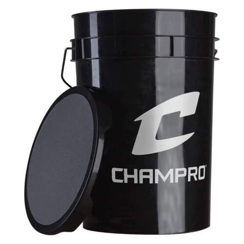 EMPTY White /& Black CHAMPRO 5 /& 6 Gallon Ball Bucket Balls Sold Separately!!