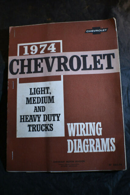 1974 Chevrolet Light  Medium  U0026 Heavy Duty Trucks Wiring