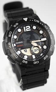 3a1f2b4a9952 La foto se está cargando Reloj-deportivo-Casio-AEQ-100W-1AV-Hombre-Negro-