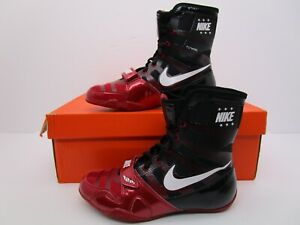 Details about Nike HyperKO Gym Red/White/Black Boxing Shoes Men's Size 6US