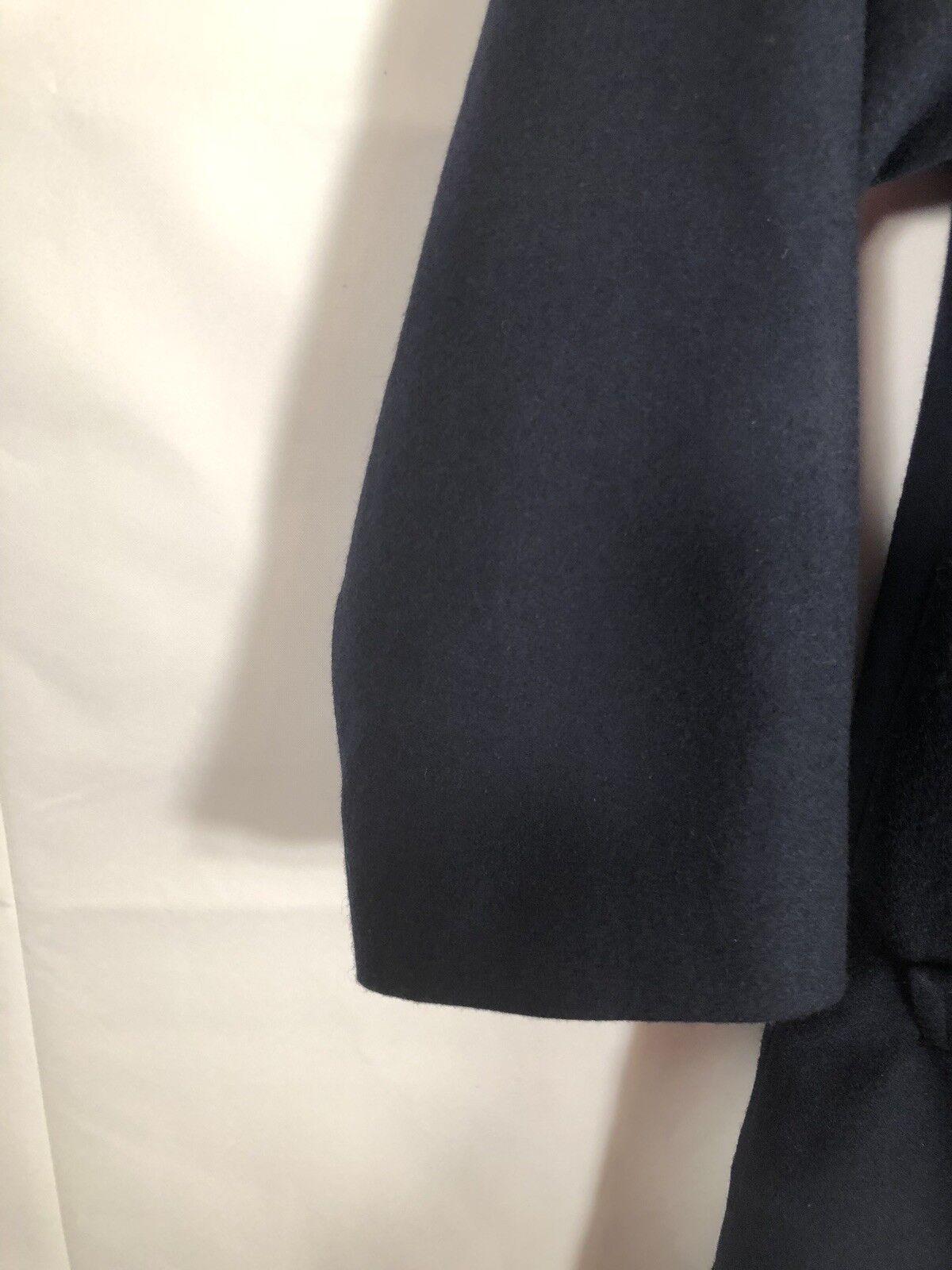 Pendleton Vintage Blue Wool Luxury Toggle Duffel … - image 5