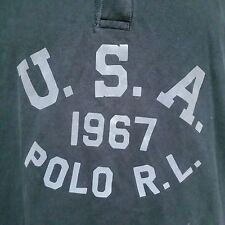 Polo Ralph Lauren Rugby Shirt Golf USA 1967 Bear RLPC Ball Sport Stadium XXL 2XL