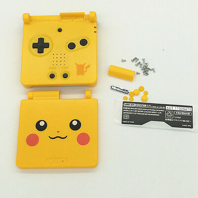 New Housing Shell Pack for Nintendo Gameboy Advance Sp GBA SP-Pikachu Yellow