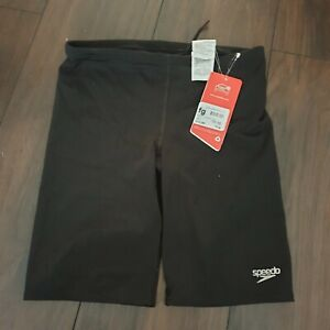 Boys-Black-Speedo-Swim-Shorts-Age-11-12-yrs