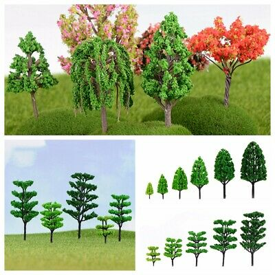 10pcs Fairy Garden Tree Miniature Pine Tree /& Myrtle Tree Home Statue
