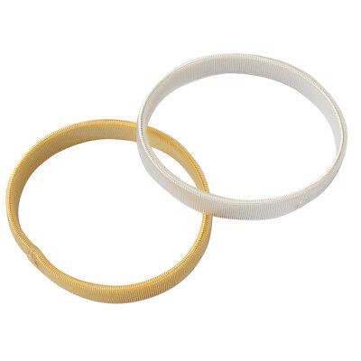 1 Paar Sprung Metall Hemd Ärmel Halter Arm Bands Strumpfbänder Elastische