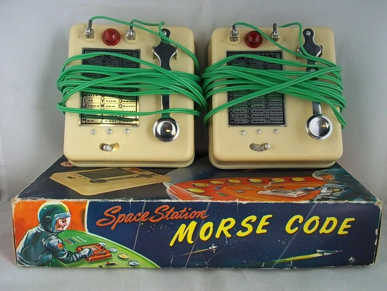 C.1950's Space Station Morse Code Signalling Set No.107