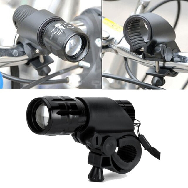 1Pc Led Lamp Flashlight Mount Holder Clamp Clip Grip Bracket For Bicycle Bike