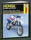 Honda XL/XR600R Owners Workshop Manual 1983-2000 by J. H. Haynes and Alan Ahlstrand (2001, Paperback)