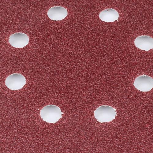 Schleifscheiben Klett-Schleifpapier Exzenter-Schleifer Ø125mm 80 Stück Körnung