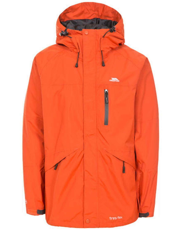 TP301 Trespass Mens Edwards Waterproof Hooded Full Zip Coat//Jacket XS-XXL