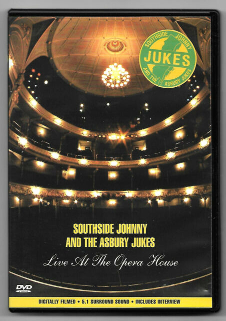 DVD/Southside Johnny and the Asbury Jukes Live Opera House (Music Concert)