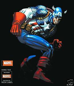 Captain-America-Action-Large-T-Shirt