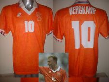 Holland Bergkamp Netherlands Lotto L Shirt Jersey Football Soccer Arsenal 1994