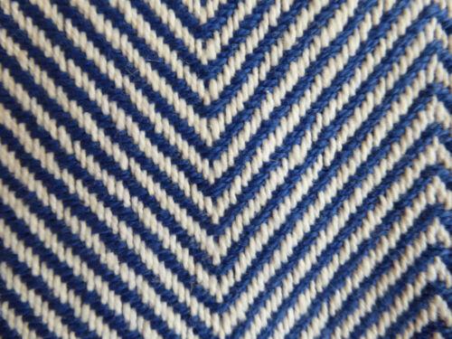 NEU Tagesdecke Werner Voß 100x180 cm blau weiß Baumwolle Decke Bettüberwurf