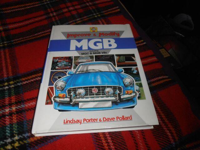 Haynes Improve & Modify MGB Signed Copy