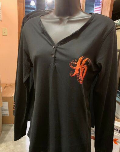Woman/'s Harley Davidson Twirl Long Sleeve Shirt 30294510