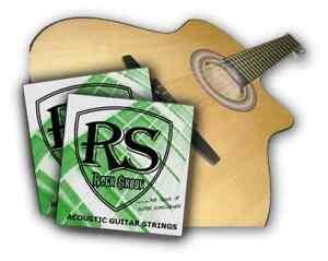 2-x-sets-genuine-RockSkool-acoustic-guitare-strings