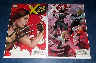 X-23 #1 /& #2 1st print set MARVEL COMIC 2018 LAURA KINNEY logan movie NM HOT