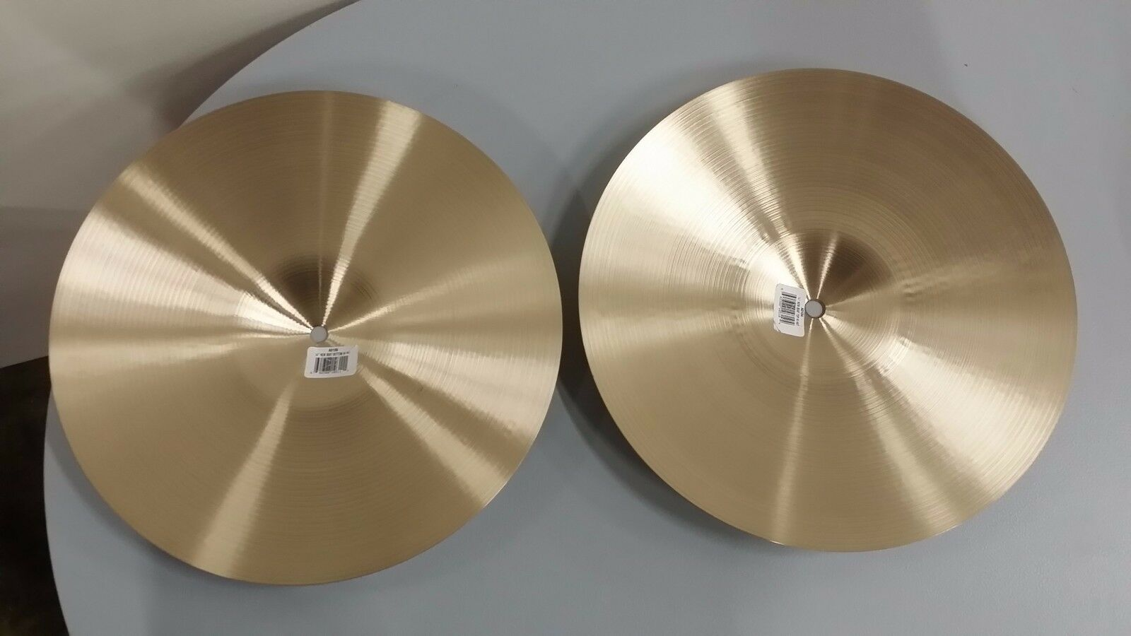 "** MINT CONDITION Zildjian A Series 14/"" New Beat Hi-Hats A0133 PAIR"