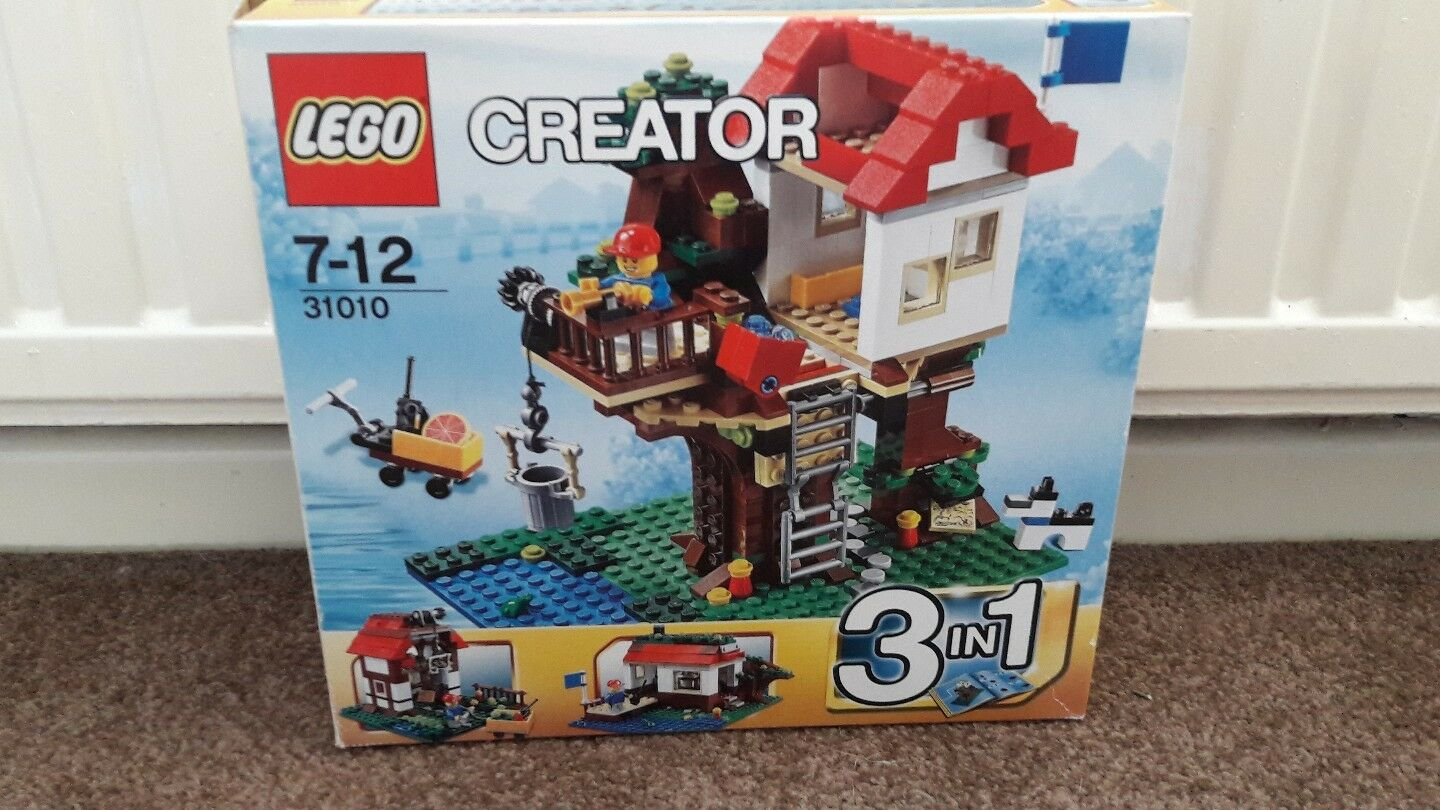 LEGO Creator Tree House (31010) Boxed and Complete with All Instructions