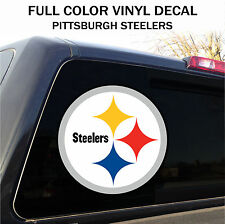 Pittsburgh Steelers Window Decal Graphic Sticker Car Truck SUV -