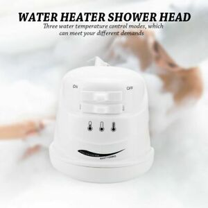 110V 5400W Electric Shower Head Quick Instant Hot Water Heater Bath Hose