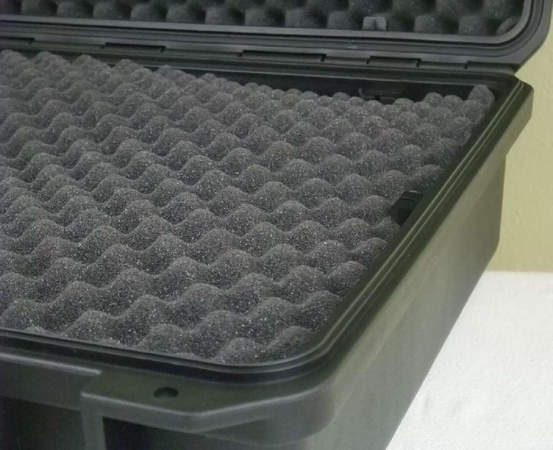Robuster Outdoor Kunststoff Kunststoff Kunststoff Koffer 51x41x20cm Box 5 Koffercase Transportkoffer dfe894