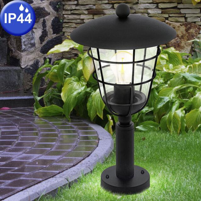 Eglo 94835 Pulfero Outdoor Pedestal Light In Black
