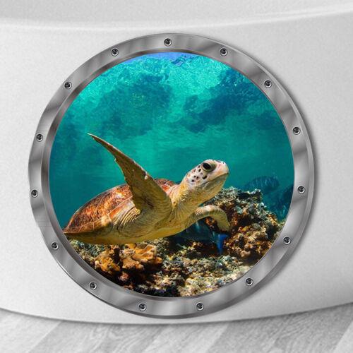 Wandaufkleber wasserdicht Schildkröte Aufkleber für Waschmaschine Dekorat*de
