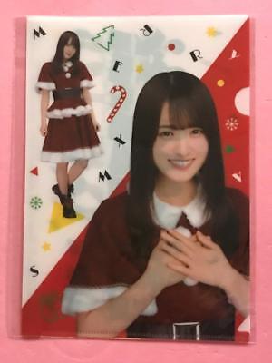 "Reasonable Keyakizaka46 Yuuka Sugai ""lawson Original Christmas Designed Clear File"" Selected Material Entertainment Memorabilia"