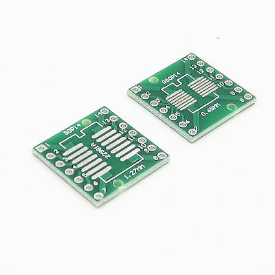10PCS IC SOP14 SSOP14 TSSOP14 DIP 0.65//1.27//2.54mm Adapter PCB Board Converter