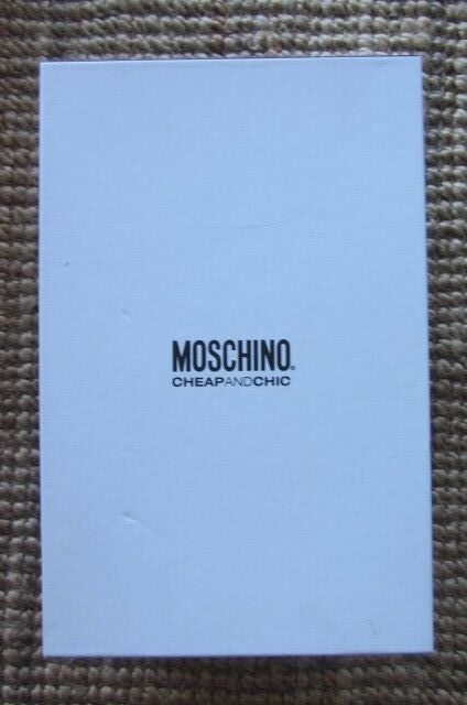 Moschino heels, size new AUS 8.5, new size with box, RRP 600 6d5da2