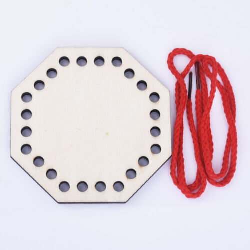 Wood lacing toy Wooden Toy natural Educational Toy Sewing for Kids Handmade 1pcs