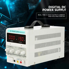 30v 5a Adjustable Power Supply Precision Variable Dc Digital Lab Withcable