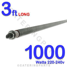 """HE3610 36"""" / 3ft LONG 1000w 1kw WET OR DRY STRAIGHT ROD TYPE HEATING ELEMENTS"""