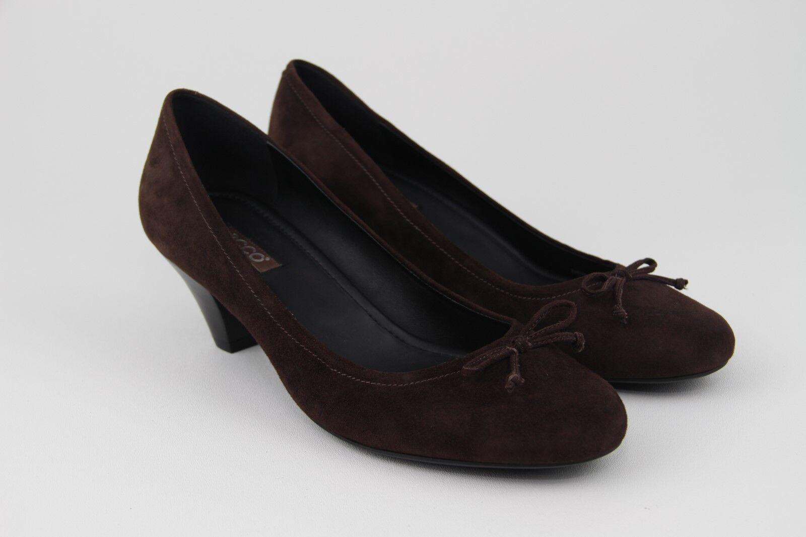 Ecco Chaussures Femmes Café Cafe Mules Talons Taille 41 EUR 10-10.5 US (OBO)