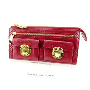 9a334bcab2 Francesco Biasia Wallet Purse Long Wallet Red Woman Authentic Used ...