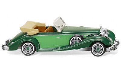 #142 03 Wiking MB 230 SL Cabrio Techno Classica Essen 2001-1:87 grün